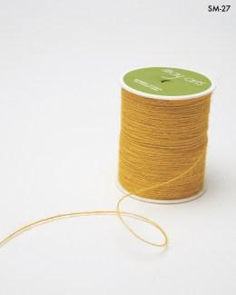 yellow burlap string jute cord