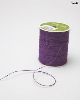 violet purple burlap string jute cord