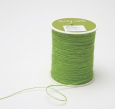 parrot green burlap string jute cord