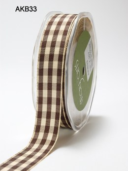 Brown Picnic Ribbon