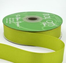 celery double face satin ribbon