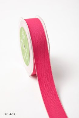 Fuchsia/Pink Solid With Color Edge Ribbon
