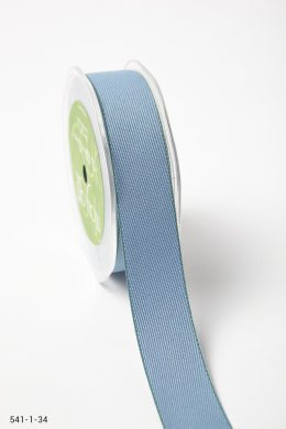 Blue/Green Solid With Color Edge Ribbon