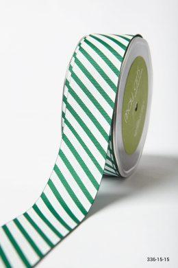 Forest Green Grosgrain w/ Print Ribbon
