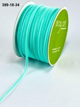 bright blue velvet string cord