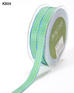 Variation #151020 of 3/8 Inch Solid Checkered Ribbon