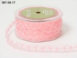 Variation #154364 of 5/8 Inch Sheer / Looped Trim Ribbon