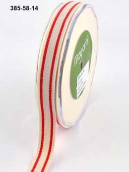 Variation #154612 of 5/8 Inch Cotton / Stripes Ribbon
