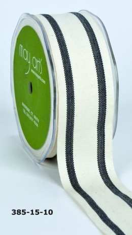 Variation #154806 of 1.5 Inch Cotton / Stripes Ribbon