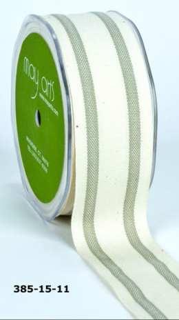 Variation #154807 of 1.5 Inch Cotton / Stripes Ribbon