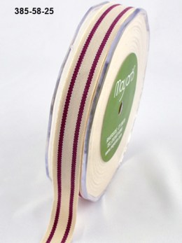 Variation #154614 of 5/8 Inch Cotton / Stripes Ribbon
