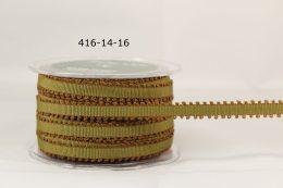 Variation #154929 of 1/4 Inch Grosgrain Ribbon w/ Picot Edge