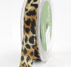 Variation #155081 of 5/8 Inch Velvet / Animal Print Ribbon