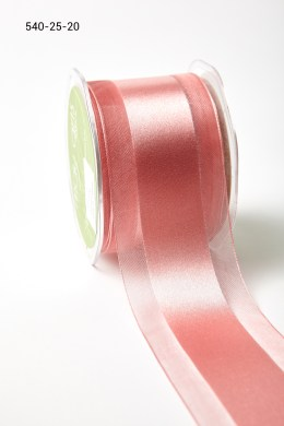 Variation #157365 of 2.5 Inch Sheer with Satin Center Ribbon