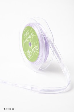 Variation #157329 of 3/8 Inch Sheer with Satin Center Ribbon