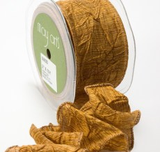 Variation #148618 of 2 Inch Solid Crushed Wired Ribbon