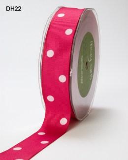 Variation #149590 of 1 Inch Grosgrain Dots Ribbon