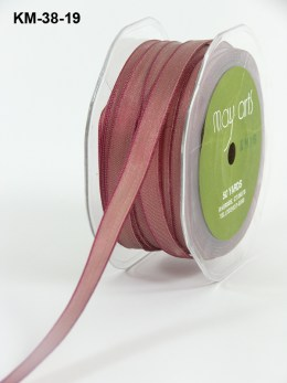 Variation #151209 of 3/8 Inch Solid Two Toned Wired Ribbon