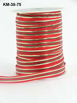 Variation #151216 of 3/8 Inch Solid Two Toned Wired Ribbon