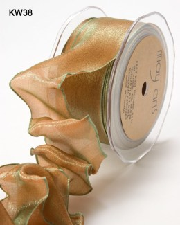 Variation #151231 of 1.5 Inch Woven Iridescent Wired Ribbon