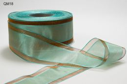 Variation #152185 of 1.5 Inch Sheer Center Band Ribbon