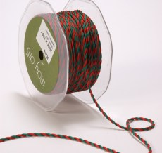 Variation #0 of 1/4 Inch Twisted Rope Ribbon