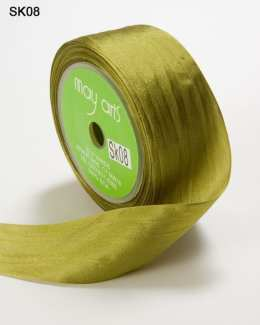 Moss Silk Ribbon