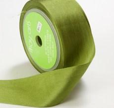 Olive Silk Ribbon