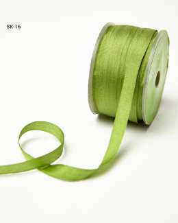 Olive Silk Ribbon