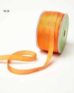 Orange Silk Ribbon