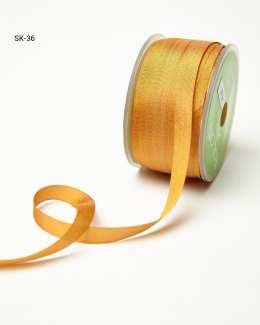 Rust Silk Ribbon