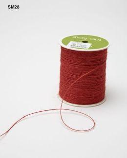 Orange Burlap String Ribbon