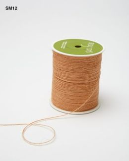 Peach Burlap String Ribbon