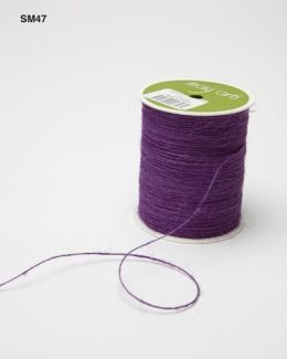 Violet Burlap String Ribbon