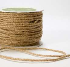 Natural Burlap Cord Ribbon