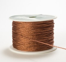 Copper Metallic Cording Ribbon