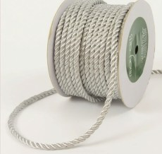 Silver Metallic Cording Ribbon
