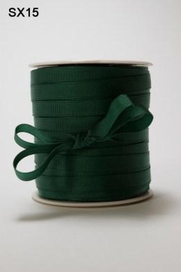 Green Grosgrain Ribbon