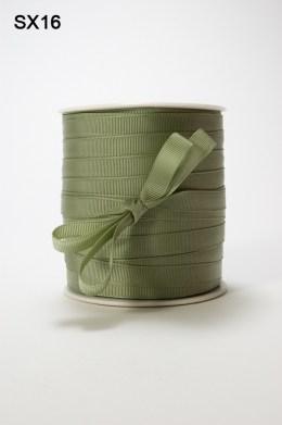 Olive Grosgrain Ribbon