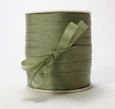 Olive Grosgrain Ribbon