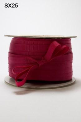 Burgundy Grosgrain Ribbon