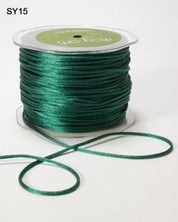 Green Satin String