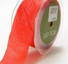 Red Silky Crush Ribbon