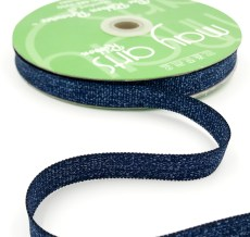 navy blue metallic sparkle grosgrain ribbon
