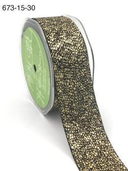 gold metallic snake skin ribbon