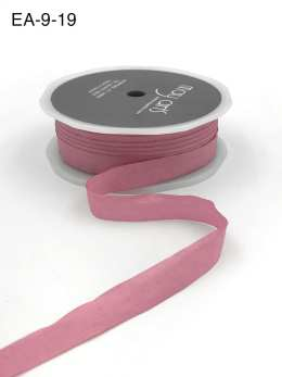 mauve dusty pink faux silk wrinkled nylon ribbon