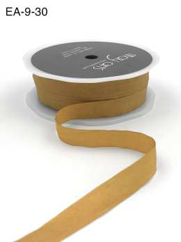 pale gold faux silk wrinkled ribbon