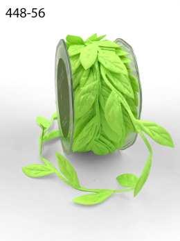 neon green leaf ribbon
