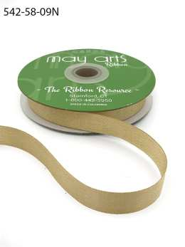 ivory gold glitter sparkle woven ribbon