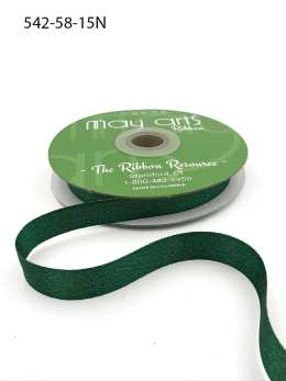 green glitter sparkle woven ribbon